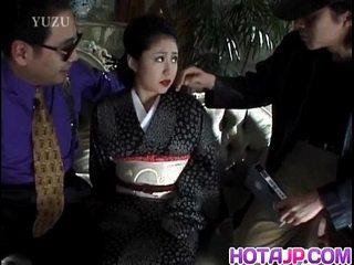 Miho Aikawa gets vibro in furry cooch