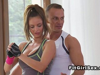 Asian honey tongued by sport coach
