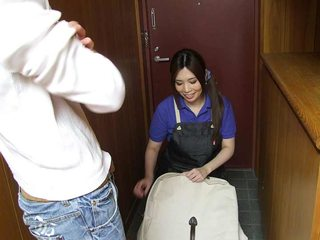 Chubby cleaning lady got fucked very hard